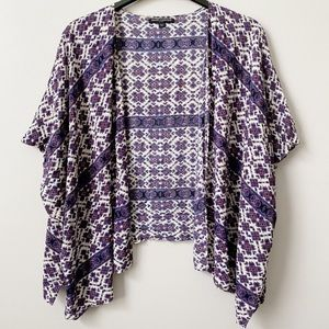 Brandy Melville Alexis Purple Kimono